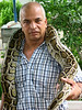 Bangkok -- Snake Farm : September 25, 2006. Cool demonstration at the Louis Pasteur Snake Farm. The people in these pictures are professionals. Don't try these at home yourself.